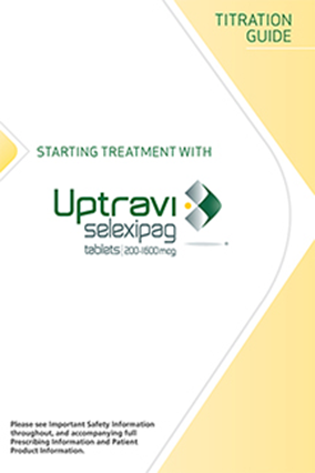 UPTRAVI Titration Guide for Patients